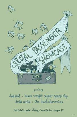 Special Passenger showcase
