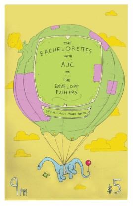 Bachelorettes Concert Poster